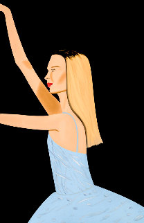 Dancer 2 2019 Limited Edition Print - Alex Katz