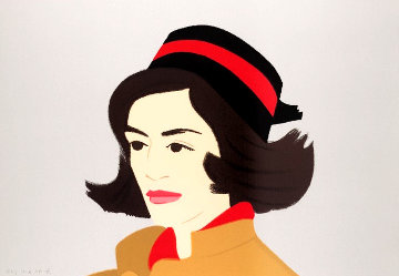 Ada in Pillbox Hat: Alex and Ada Suite 1990 Limited Edition Print - Alex Katz