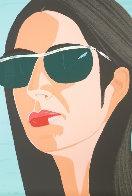 Ada in Sunglasses:  Alex and Ada Suite 1990 Limited Edition Print by Alex Katz - 1