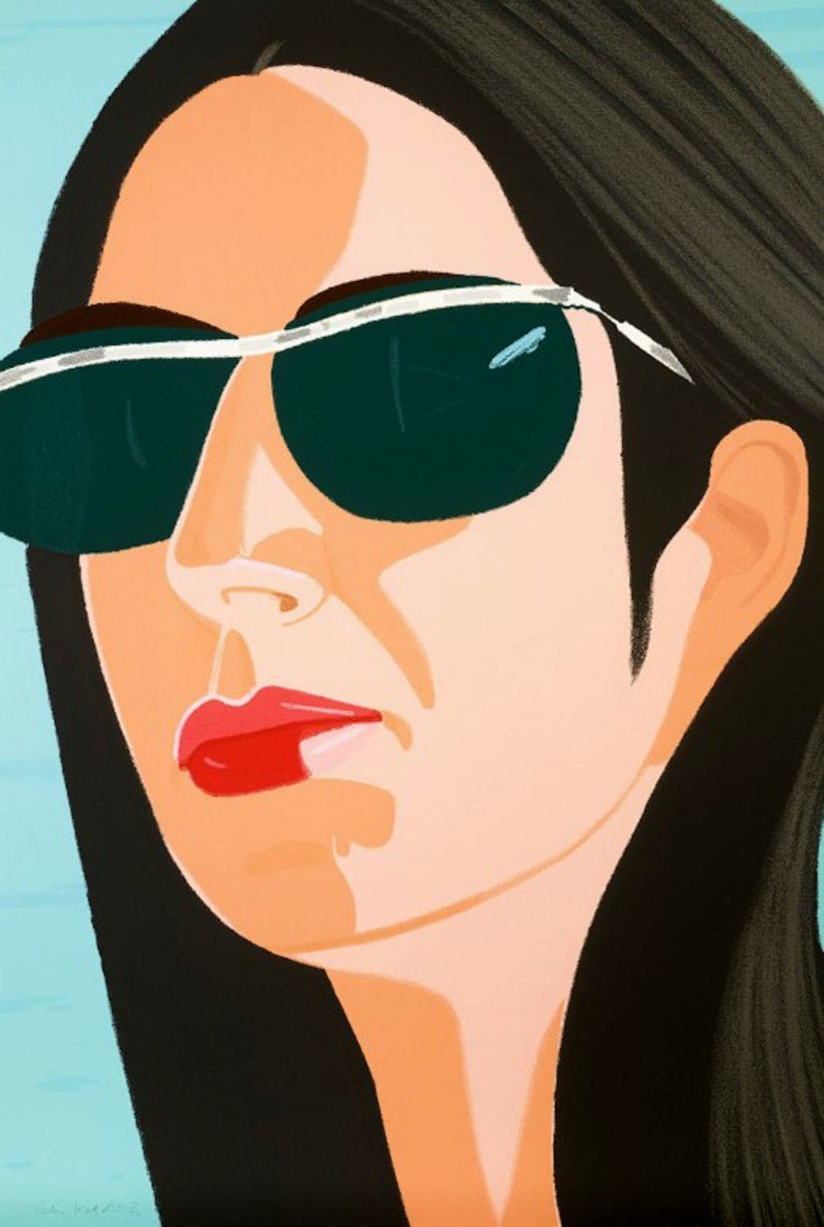 Ada in Sunglasses:  Alex and Ada Suite 1990 Limited Edition Print by Alex Katz
