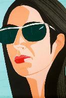Ada in Sunglasses:  Alex and Ada Suite 1990 Limited Edition Print by Alex Katz - 0