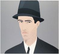 Alex Katz Passing Self Portrait:  Alex and Ada Suite 1990 Limited Edition Print by Alex Katz - 1