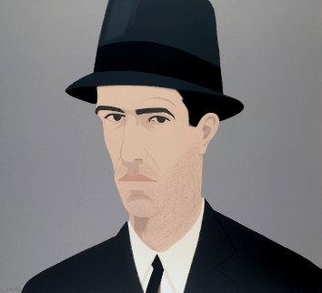 Alex And Ada Suite: Alex Katz Passing Self Portrait Limited Edition Print - Alex Katz