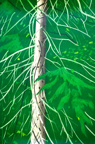 Spruce 1994 Limited Edition Print by Alex Katz