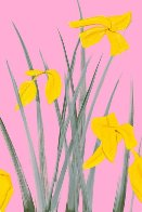 Yellow Flags 3 2020 Limited Edition Print by Alex Katz - 1