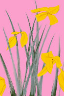 Yellow Flags 3 2020 Limited Edition Print by Alex Katz - 0