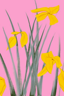 Yellow Flags 3 2020 Limited Edition Print - Alex Katz