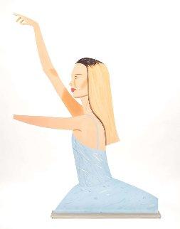 Dancer 2 (Cutout) Sculpture 29x21 Sculpture by Alex Katz