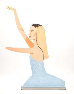 Dancer 2 (Cutout) Sculpture 29x21 Sculpture - Alex Katz