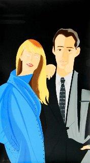 Pas De Deux 1983 Limited Edition Print - Alex Katz