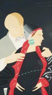 Pas De Deux # 5 1983 Limited Edition Print - Alex Katz