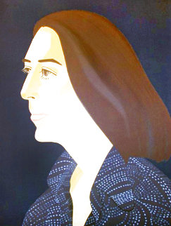 Ada Four Times #2 PP Limited Edition Print - Alex Katz