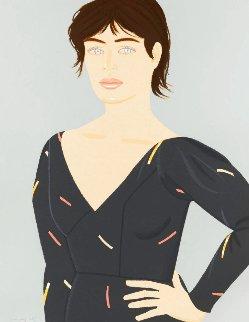 Grey Dress 1992 Limited Edition Print - Alex Katz