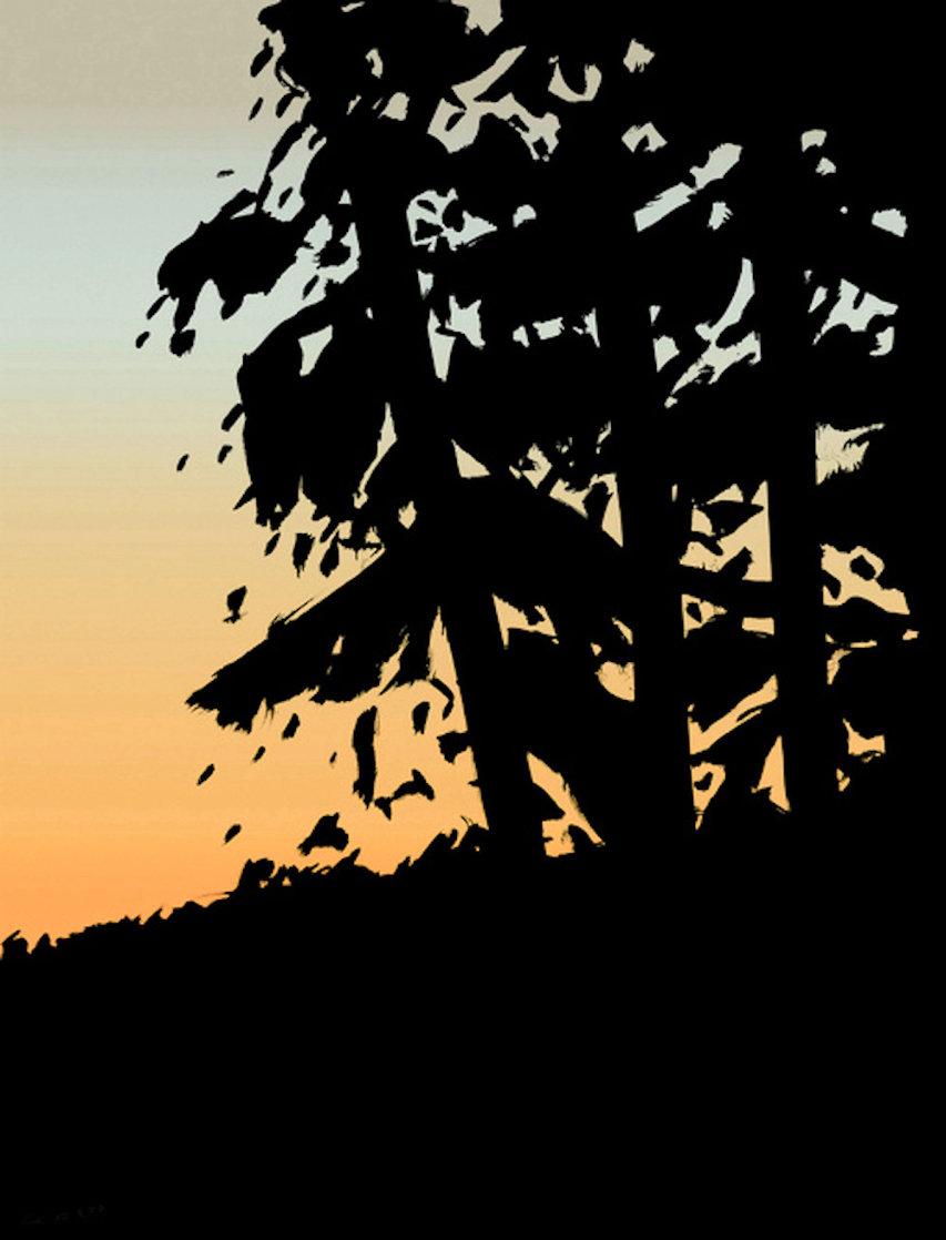 Sunrise Sunset Portfolio: Sunset 1  2020  Huge Limited Edition Print by Alex Katz