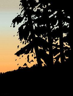 Sunrise Sunset Portfolio: Sunset 1  2020  Huge Limited Edition Print - Alex Katz