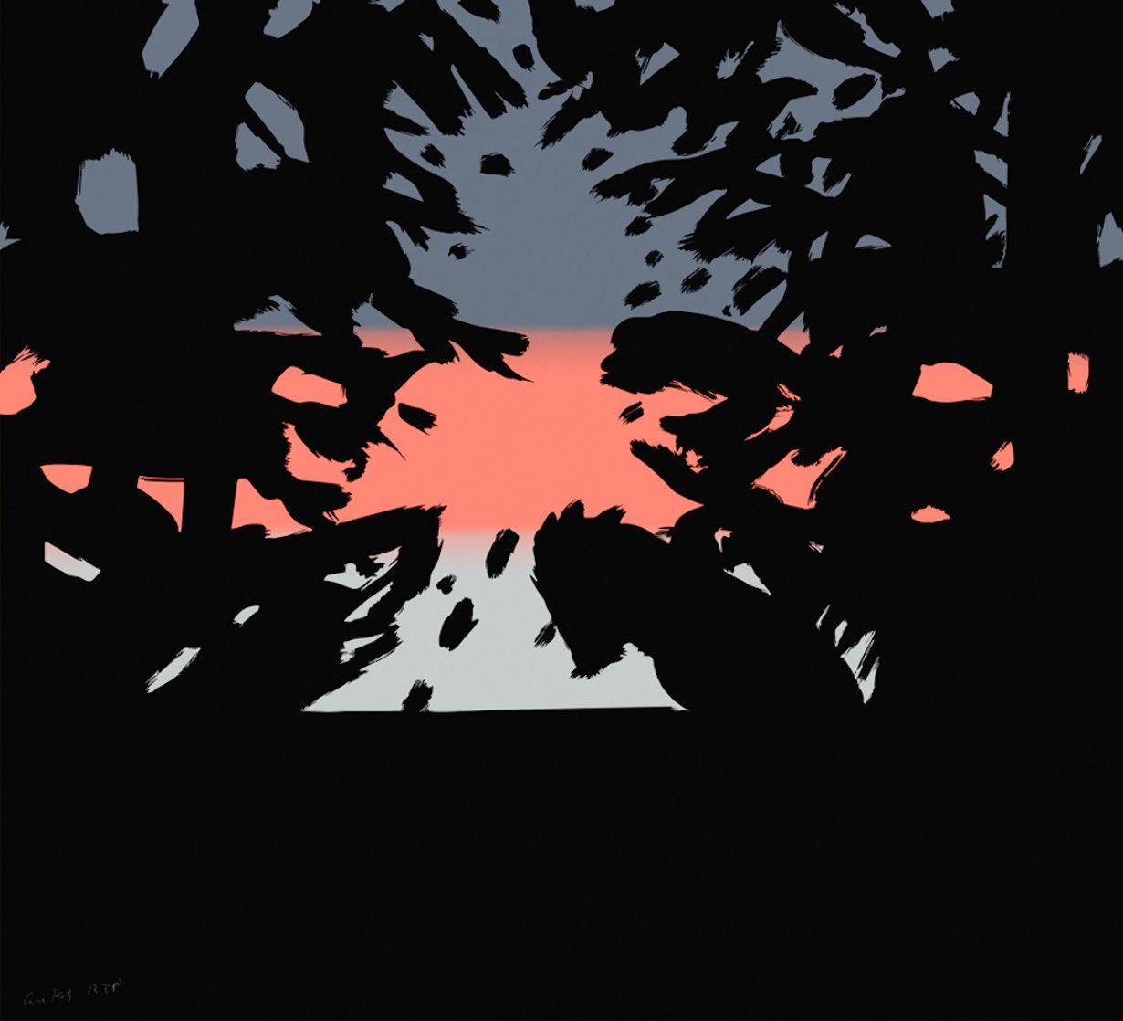 Sunrise Sunset Portfolio: Sunset 2 Super Huge Limited Edition Print by Alex Katz