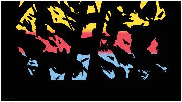 Sunrise Sunset Portfolio: Sunset 3  2020 Huge Limited Edition Print - Alex Katz