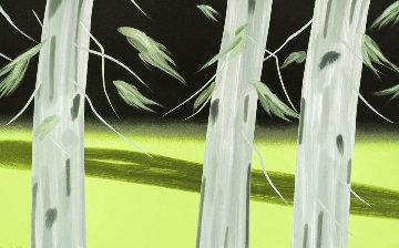 Three Trees 2018 37x59 Limited Edition Print - Alex Katz