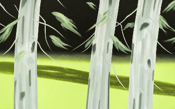 Three Trees 2018 Huge Limited Edition Print - Alex Katz