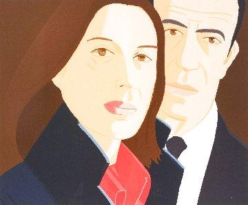 Alex And Ada 1984 Limited Edition Print - Alex Katz