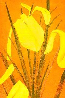 Yellow Flags 4 Limited Edition Print - Alex Katz