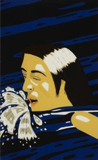 Olymipic Swimmer 1976 Limited Edition Print - Alex Katz