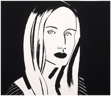 Six Portraits- Christine 2013 Limited Edition Print - Alex Katz