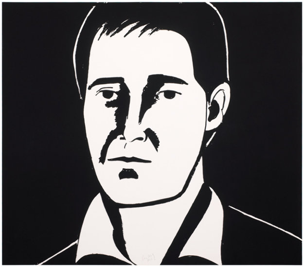 Six Portraits- Javier 2013 Limited Edition Print by Alex Katz