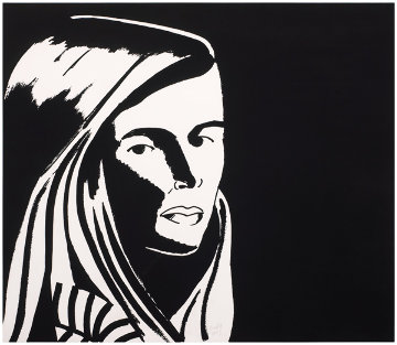 Six Portraits- Elizabeth III 2013 Limited Edition Print by Alex Katz