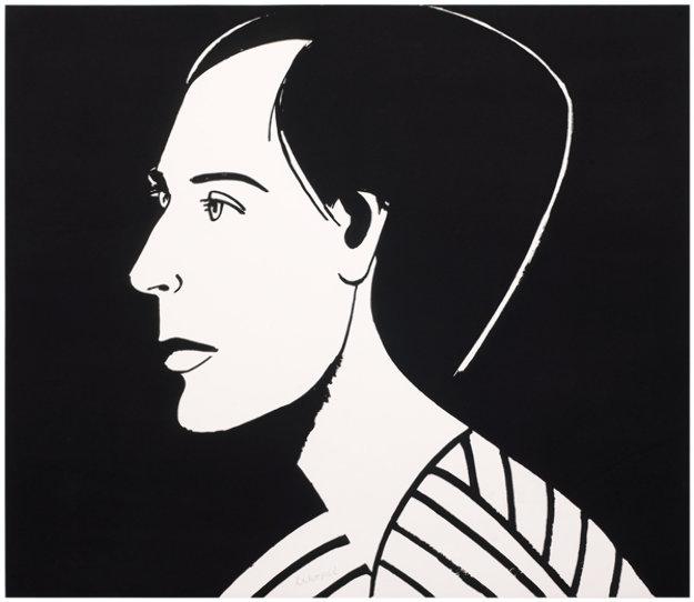 from Six Portraits- Meghan 2013 Limited Edition Print by Alex Katz