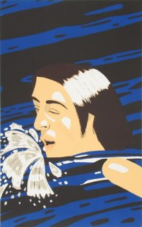 Olympic Swimmer 1976 Limited Edition Print by Alex Katz