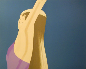 Night: William Dumas Dance Suite of 4 Lithographs 1979 Limited Edition Print by Alex Katz