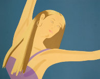 Night: William Dumas Dance Suite of 4 Lithographs 1979 Limited Edition Print by Alex Katz - 1