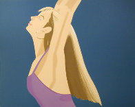 Night: William Dumas Dance Suite of 4 Lithographs 1979 Limited Edition Print by Alex Katz - 3