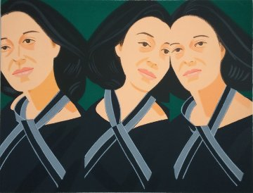 Grey Ribbon 1990 Limited Edition Print by Alex Katz