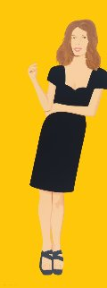 Black Dress; individual images available 2015  Limited Edition Print by Alex Katz