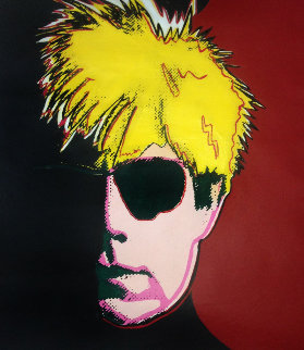 Andy Warhol Screen Print 1988 36x44 Limited Edition Print - Steve Kaufman