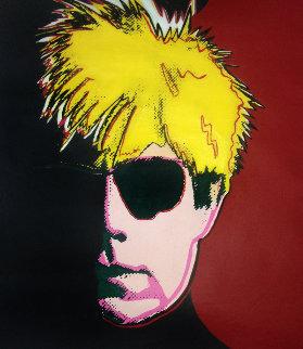 Andy Warhol Screen Print 1988 36x44 Huge  Limited Edition Print - Steve Kaufman