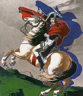 Napoleon State I (Silver) 1980 Limited Edition Print - Steve Kaufman