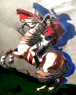 Napoleon State I (Silver) 1980 Limited Edition Print by Steve Kaufman