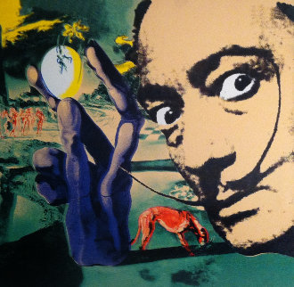 Salvador Dali  Limited Edition Print by Steve Kaufman