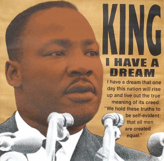 Martin Luther King Jr., I Have a Dream  AP 2005 Limited Edition Print - Steve Kaufman