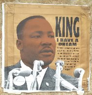 Martin Luther King Jr., I Have a Dream  AP 2005 Limited Edition Print by Steve Kaufman - 2