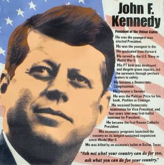 John F. Kennedy, Biography AP 2005 Limited Edition Print - Steve Kaufman