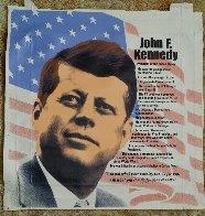 John F. Kennedy, Biography AP 2005 Limited Edition Print by Steve Kaufman - 1