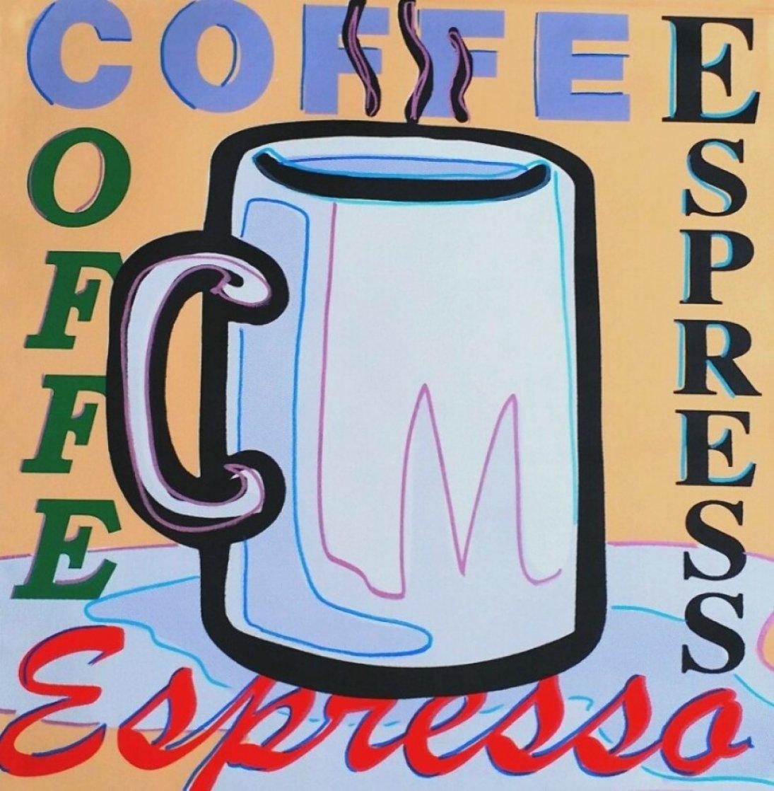 Coffee, Espresso AP 2005 Limited Edition Print by Steve Kaufman