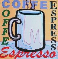 Coffee, Espresso AP 2005 Limited Edition Print by Steve Kaufman - 0
