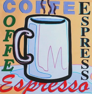 Coffee, Espresso AP 2005 Limited Edition Print - Steve Kaufman
