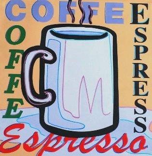 Coffee, Espresso AP 2005 Limited Edition Print - Steve Kaufman