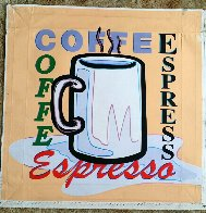 Coffee, Espresso AP 2005 Limited Edition Print by Steve Kaufman - 1